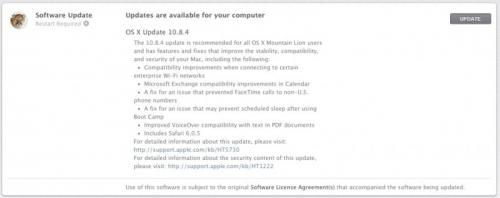 photo image Apple Releases OS X 10.8.4 with Wi-Fi Compatibility Improvements, Bug Fixes