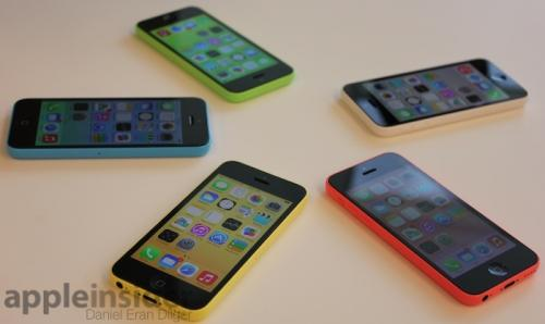 photo image Inside Apple's iPhone 5c: 'c' is for 'colors'