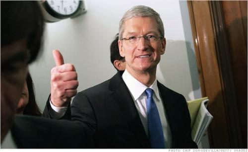 Apple reports $45.6 billion…