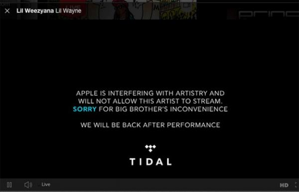 Tidal accuses Apple of interfering with Drake live stream, Drake denies