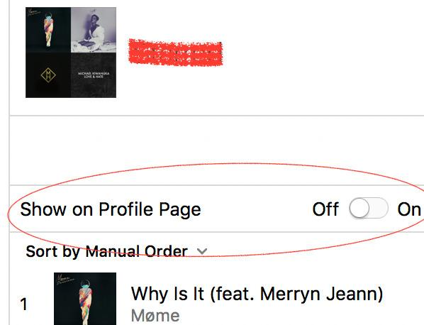 Apple reissues iTunes 12.6, removes mysterious 'Show on Profile Page' option