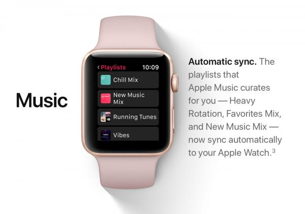 watchOS 4 no longer lets you browse iPhone music library on your Apple Watch