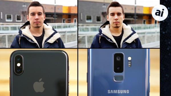 Watch: iPhone X vs. Galaxy S9+ cameras compared
