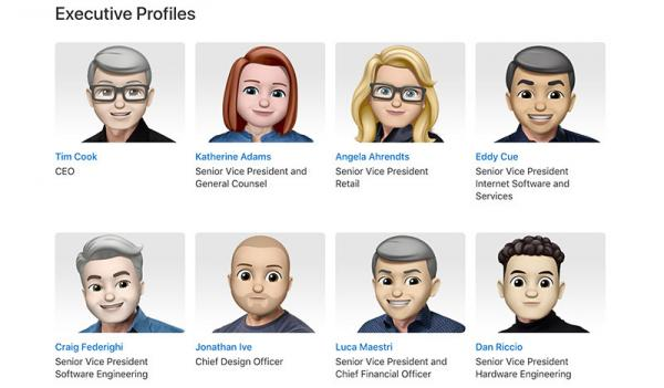 photo image Apple execs turn into their Memoji doppelgangers for World Emoji Day