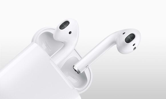 Of course Apple's AirPods wireless…
