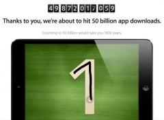 News: Apples 50 billion app&hellip;
