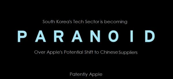 photo image Korea's Deep Paranoia is Setting in as Apple Considers a Supply Shift to China and Apple Watch 3 Shifts to Micro-LED
