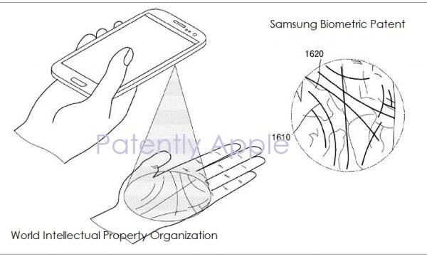 photo image Samsung Thinks that Biometric Palm Reading Could be their Weapon against Apple's hot new TrueDepth Face ID