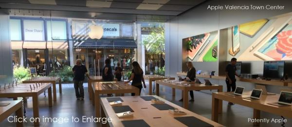 photo image The Apple Store in Valencia Town Center was Robbed Yesterday