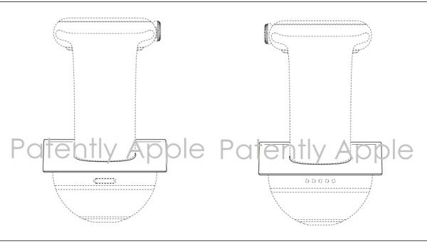 Apple wins a Design Patent for an Unfamiliar Apple Watch Stand
