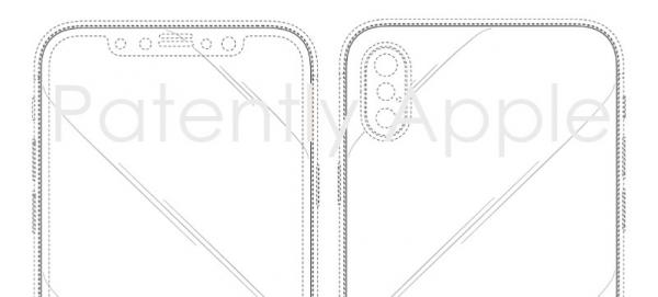 photo image The Hong Kong Patent Office Grants Apple 6 iPhone X Design Patents that Protect the Controversial Display Notch