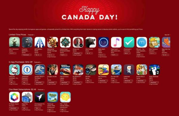 Canadian-Made Games Go on Sale for Canada Day
