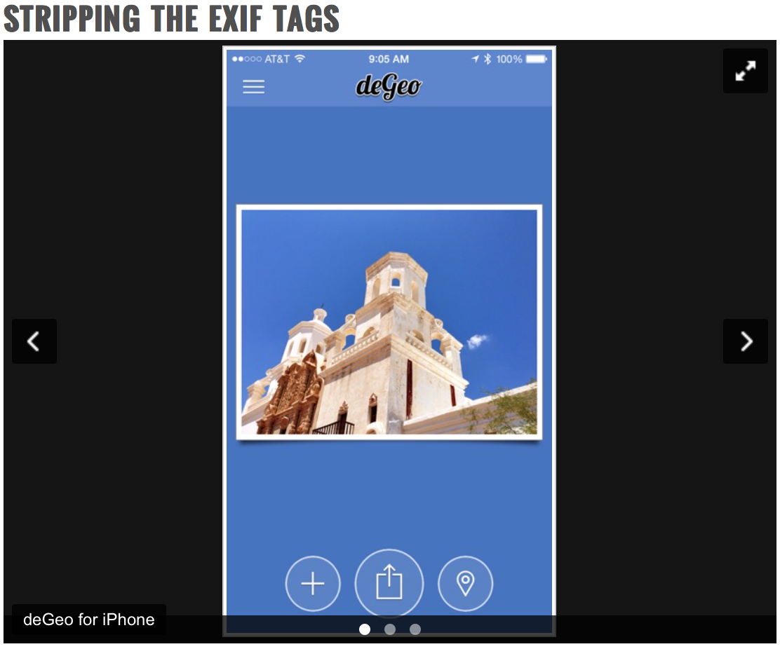 Getting Rid of Location Data On Your Photos for Safety and Security