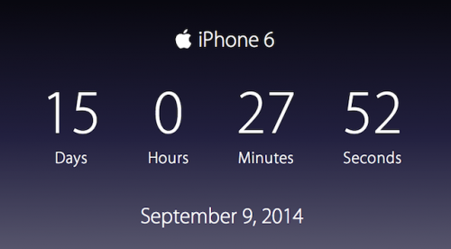 Apple Timer helps you count…