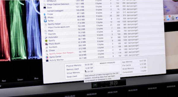 The Retina iMac 5k maxed out with 32GB of RAM is incredible