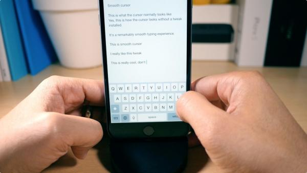 SmoothCursor brings a beautifully animated cursor to iOS