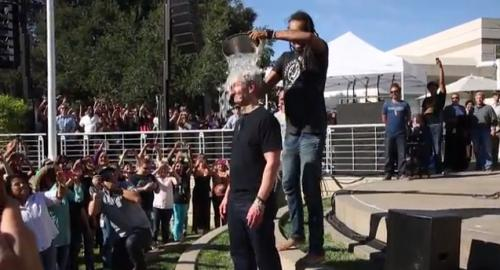 Samsung's ALS challenge video completely…