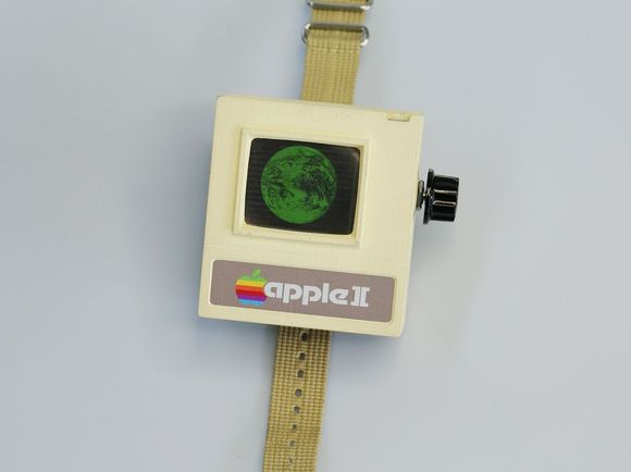 Forget the Apple Watch—here's the Apple II Watch