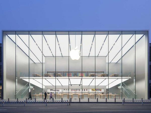 New Apple Store in China has a free-floating second floor
