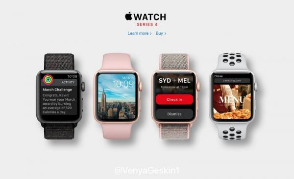 Apple Watch Series 4 Models Filed With Eurasian Database Ahead of September Launch