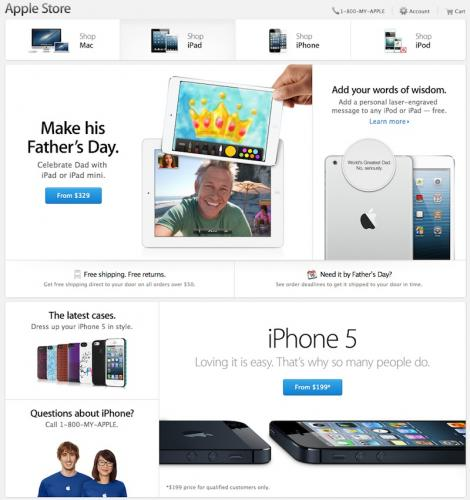 Apple Updates Look of Online…