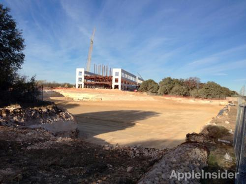 photo image Photos show Apple's new $304M Austin campus now under construction