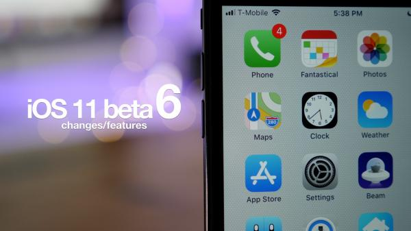 What's new in iOS 11 beta 6? Hands-on with new features and changes [Video]