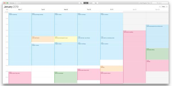 photo image How to use color-coded calendars on Mac, iPhone and iPad to maintain balance in your life