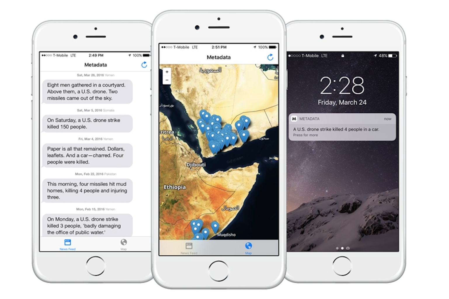 After 12 Rejections, Apple Accepts U.S. Drone Strike Tracking App