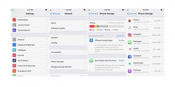 photo image iOS 11: How to easily free up storage space on iPhone and iPad