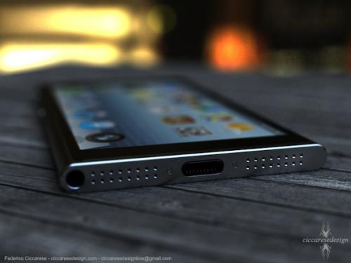 photo image Gorgeous iPhone 6 concept based on new iPod nano design