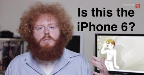 This is NOT the iPhone 6, or is it?