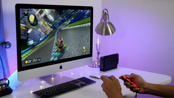 photo image How to play Nintendo Switch and other game consoles on your iMac's display [Video]