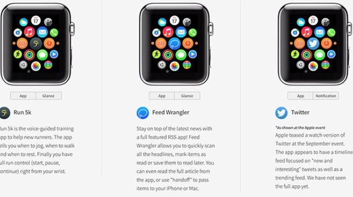 Website builds interactive Apple Watch app previews with help from developers