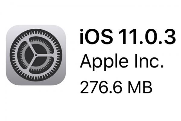 photo image Apple releases iOS 11.0.3 update