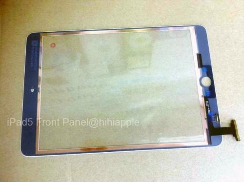 photo image Possible front panel for 'iPad 5' shows up bearing mini-inspired aesthetic