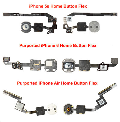 Home button parts claimed to be for…