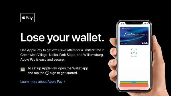 photo image Apple holding 'Lose your wallet' Apple Pay shopping event w/ exclusive discounts in New York City