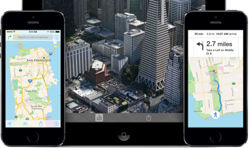 iOS 8: Apple polishes Maps data, adds…