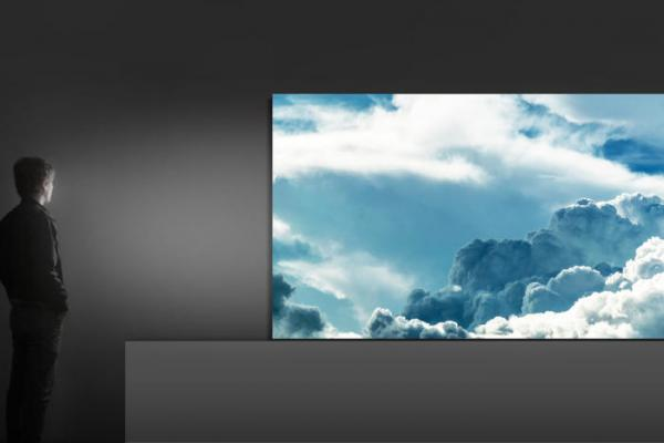 photo image Samsung's ginormous 'The Wall' TV is the first consumer display to use micro-LED technology