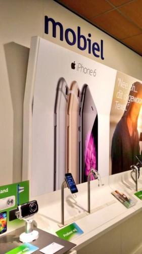 This bent iPhone 6 billboard…