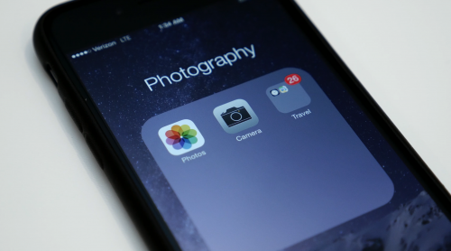 How to create nested folders in iOS 8…