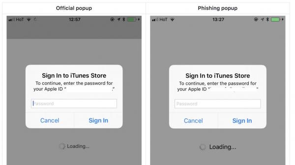 photo image PSA: A new phishing attack could trick you into giving away your Apple ID password