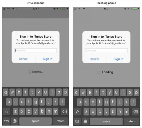 photo image Developer Demonstrates iOS Phishing Attack That Uses Apple-Style Password Request