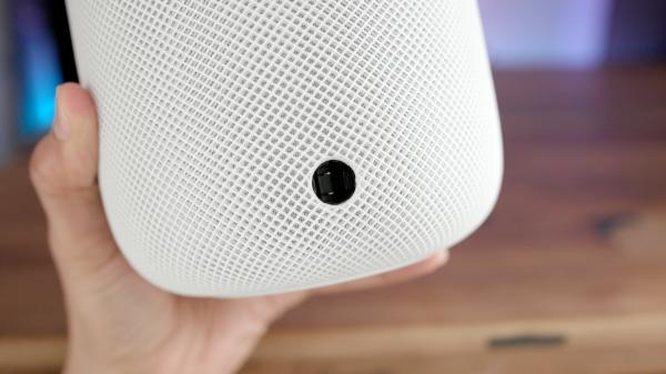photo image The HomePod power cable can be removed, but you probably shouldn't [Video]