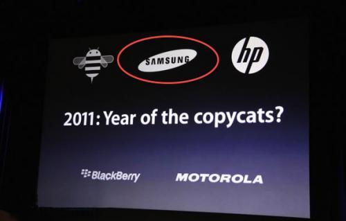 Samsung's latest ad claims…