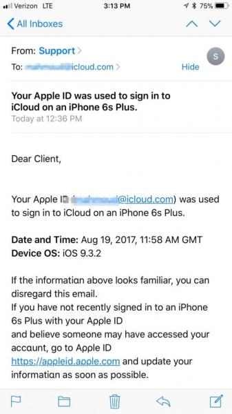 There's a New Apple Support Phishing Scam Making the Rounds