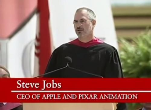 A Famous Steve Jobs Speech Is…