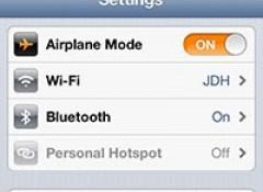 photo image Tip of the Day: Using Wi-Fi and Bluetooth while in Airplane Mode