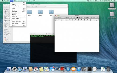 A visual tour of OS X Yosemite's changes
